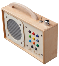 mp3-Player aus Holz